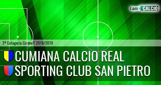 Cumiana Calcio Real - Sporting Club San Pietro