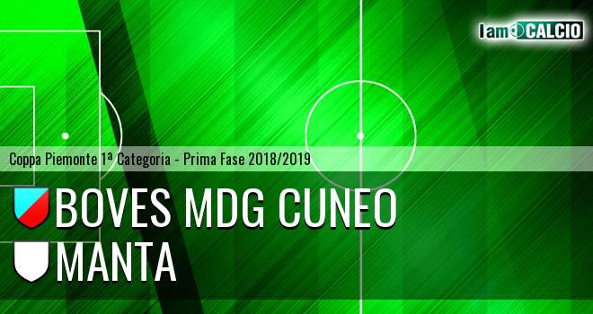 Boves MDG Cuneo - Manta