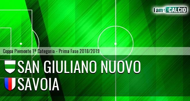 San Giuliano Nuovo - Savoia