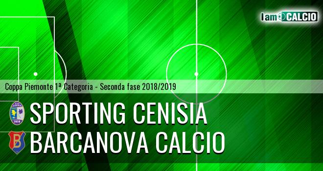 Sporting Cenisia - Barcanova Calcio