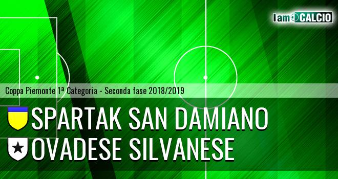 Spartak San Damiano - Ovadese Silvanese
