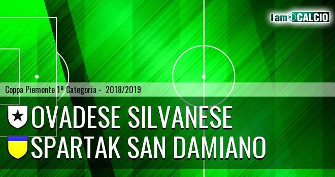 Ovadese Silvanese - Spartak San Damiano