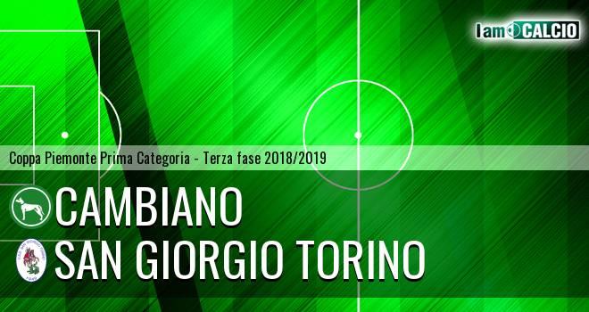 Cambiano - San Giorgio Torino
