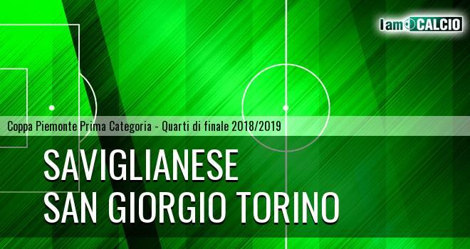 Saviglianese - San Giorgio Torino