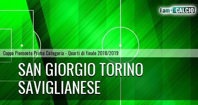 San Giorgio Torino - Saviglianese