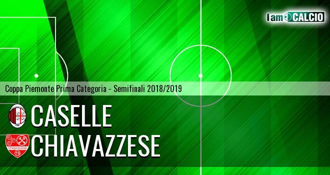 Chiavazzese - Caselle 0-0. Cronaca Diretta 11/04/2019