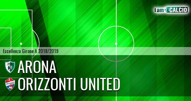 Arona - Orizzonti United 0-0. Cronaca Diretta 16/09/2018