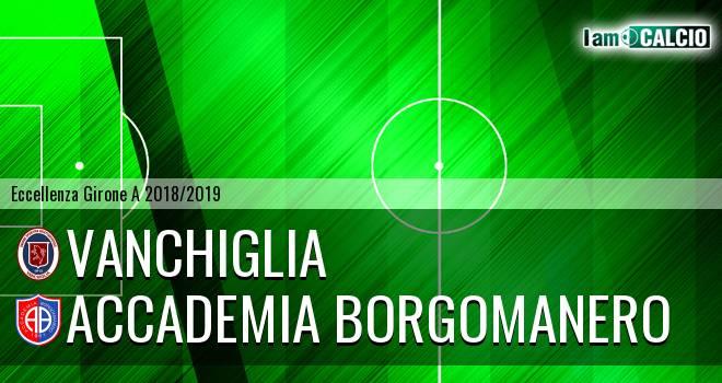 Vanchiglia - Accademia Borgomanero
