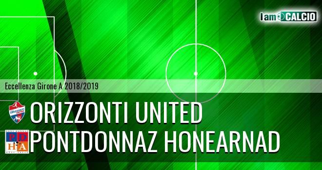 Orizzonti United - PontDonnaz HoneArnad Evanco
