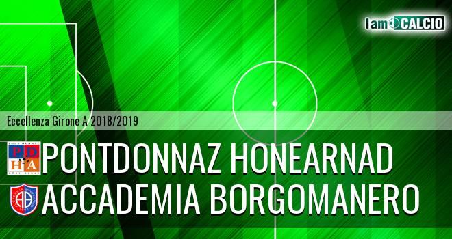 PontDonnaz HoneArnad Evanco - Accademia Borgomanero