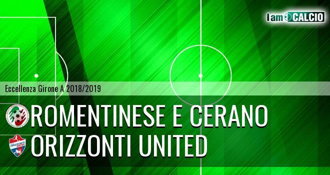 Romentinese e Cerano - Orizzonti United