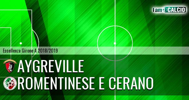 Aygreville - Romentinese e Cerano