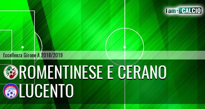 Romentinese e Cerano - Lucento