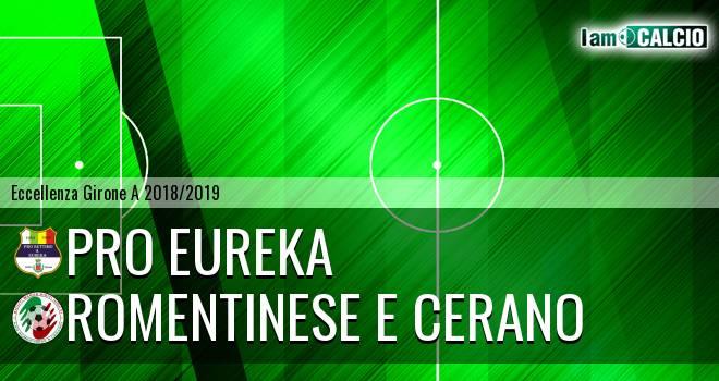 Pro Eureka - Romentinese e Cerano