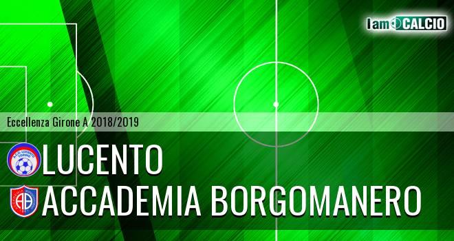 Lucento - Accademia Borgomanero