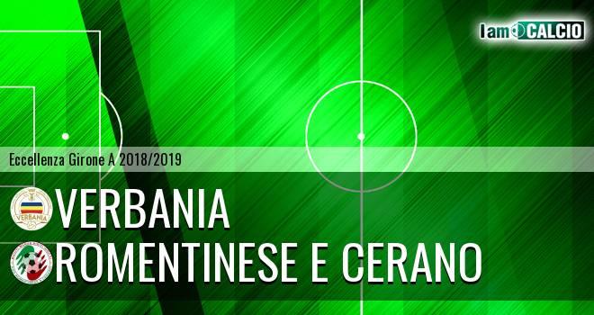 Verbania - Romentinese e Cerano