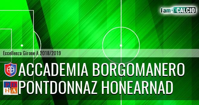Accademia Borgomanero - PontDonnaz HoneArnad Evanco
