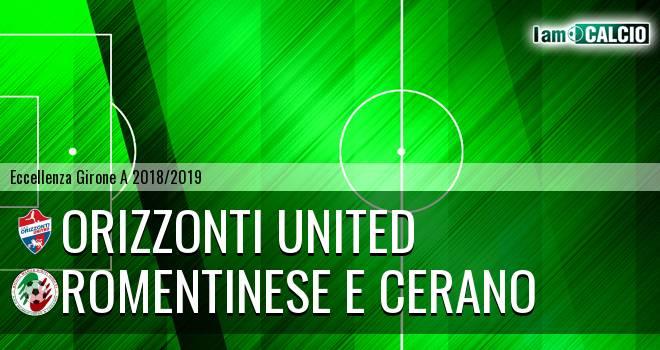 Orizzonti United - Romentinese e Cerano