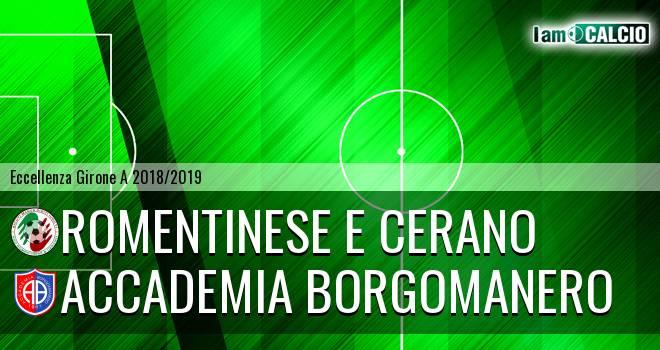 Romentinese e Cerano - Accademia Borgomanero