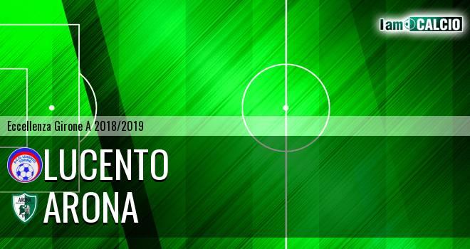 Lucento - Arona 2-0. Cronaca Diretta 24/02/2019