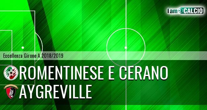 Romentinese e Cerano - Aygreville