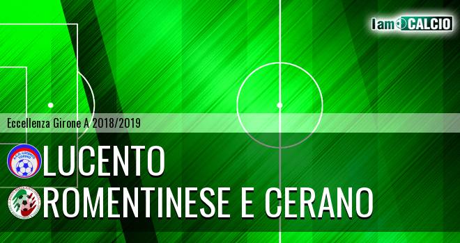 Lucento - Romentinese e Cerano