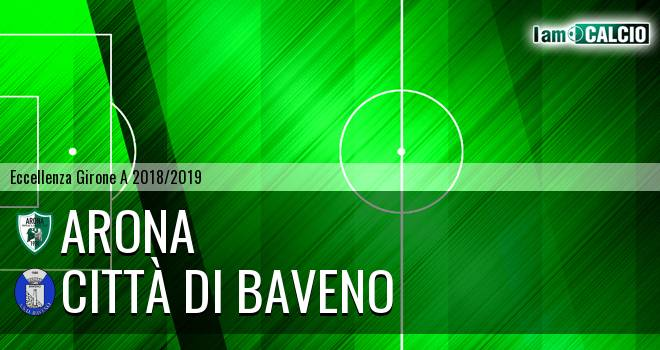 Arona - Città di Baveno 1-2. Cronaca Diretta 17/03/2019