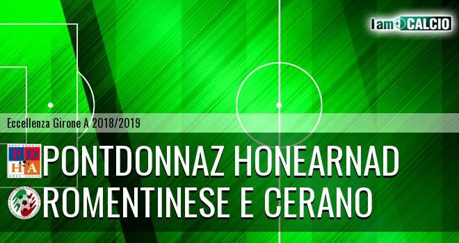 PontDonnaz HoneArnad Evanco - Romentinese e Cerano