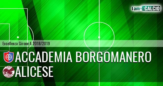 Accademia Borgomanero - Alicese