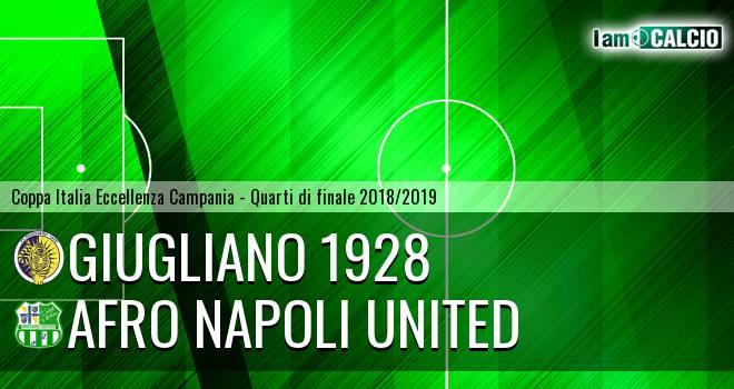 Giugliano 1928 - Afro Napoli United