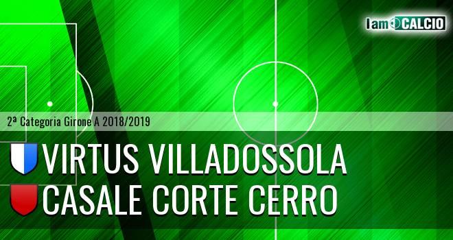 Virtus Villadossola - Casale Corte Cerro