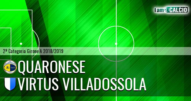 Quaronese - Virtus Villadossola
