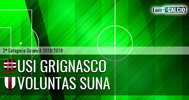 Usi Grignasco - Voluntas Suna