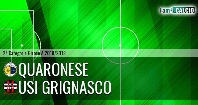 Quaronese - Usi Grignasco