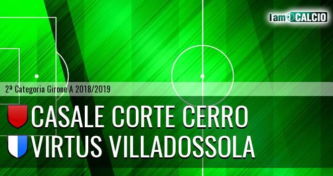 Casale Corte Cerro - Virtus Villadossola