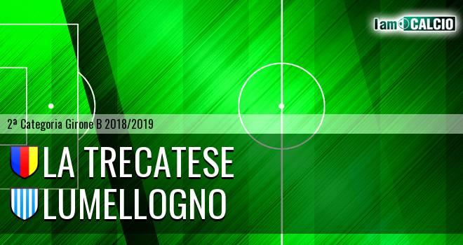 La Trecatese - Lumellogno 1-2. Cronaca Diretta 25/11/2018