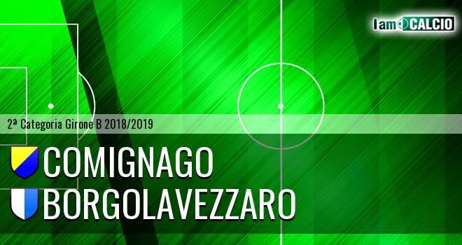 Comignago - Borgolavezzaro 1-0. Cronaca Diretta 03/03/2019