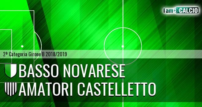 Basso Novarese - Amatori Castelletto