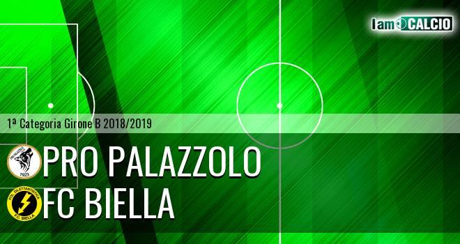 Pro Palazzolo - FC Biella