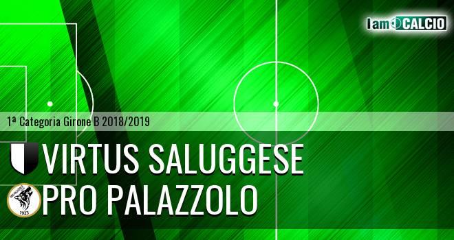 Virtus Saluggese - Pro Palazzolo