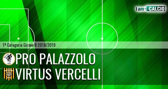 Pro Palazzolo - Virtus Vercelli