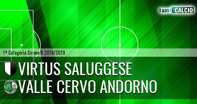 Virtus Saluggese - Valle Cervo Andorno