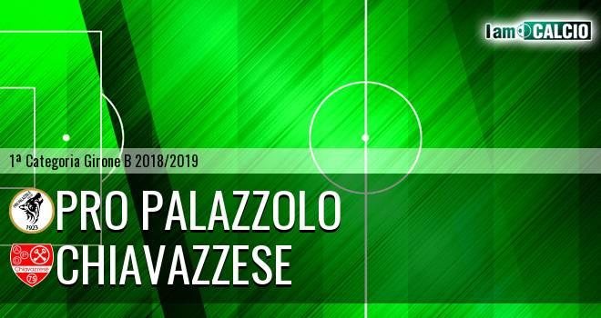 Pro Palazzolo - Chiavazzese