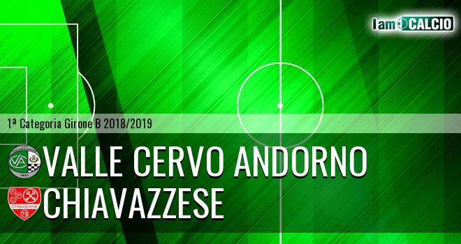 Valle Cervo Andorno - Chiavazzese