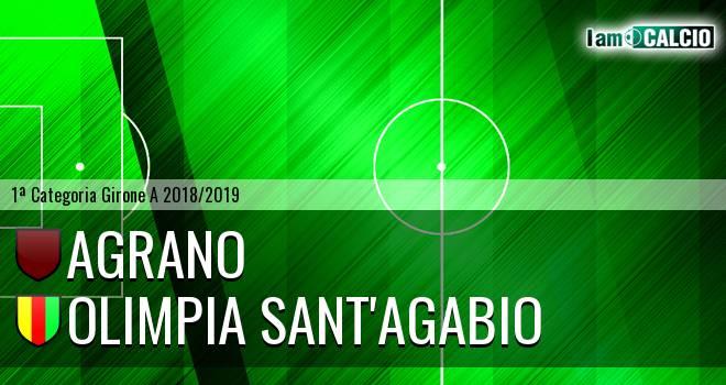 Agrano - Olimpia Sant'Agabio