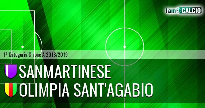 Sanmartinese - Olimpia Sant'Agabio
