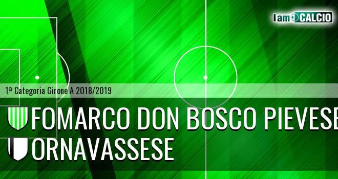 Fomarco Don Bosco Pievese - Ornavassese