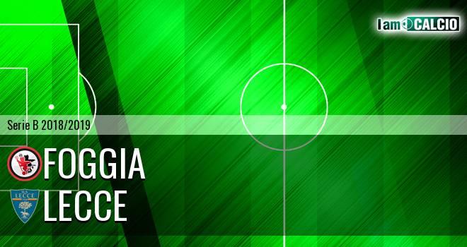 Foggia - Lecce