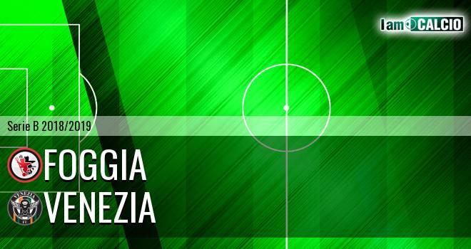 Foggia - Venezia 1-1. Cronaca Diretta 03/12/2018