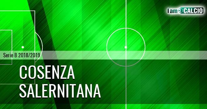 Cosenza - Salernitana 0-0. Cronaca Diretta 27/12/2018